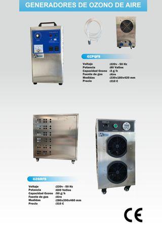Generadores de ozono