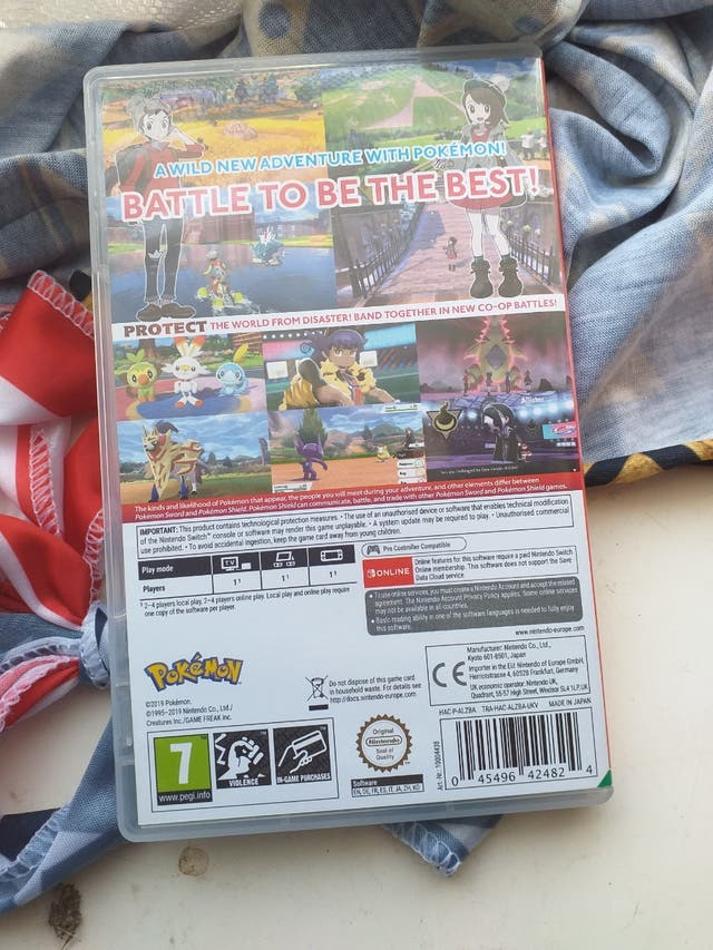 BRAND NEW pokemon shield for nintendo switch