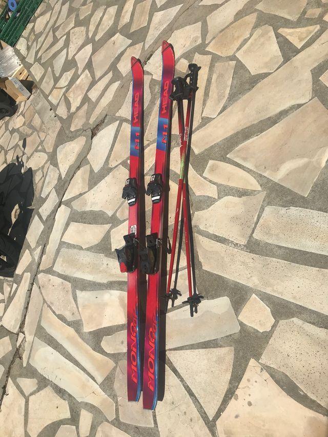 Ski head mono top +palos snowtech