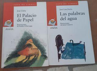 El palacio de papel y Las palabras del agua