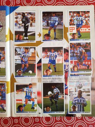 Los mejores equipos de Europa 96/97 Álbum Panini