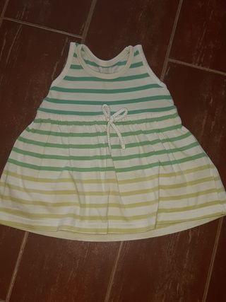 vestido bebe verano