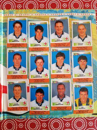 Eurocopa 96 Álbum de Cromos Panini COMPLETO