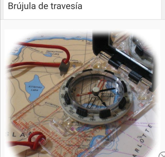 Brujula compass Suunto Mc-1