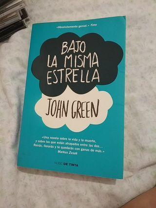 Libro Bajo La Misma Estrella de John Green