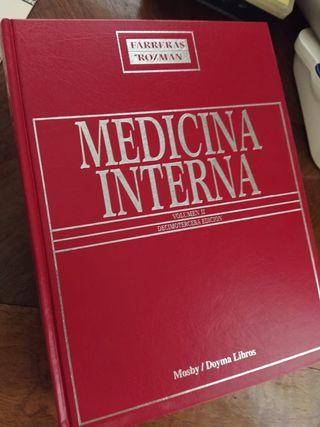 Libro medicina interna volumen I y II