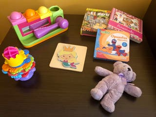 Lote juguetes infantil