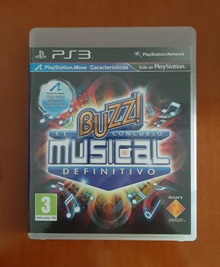 Juego Buzz musical ps3