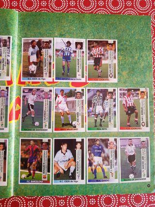 La Liga 96/97 Álbum de cromos Panini COMPLETO