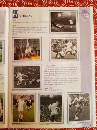 Real Madrid Historia y liga 94/95 Álbum de cromos