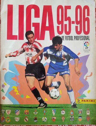 La Liga 95/96- Álbum de cromos Panini COMPLETO