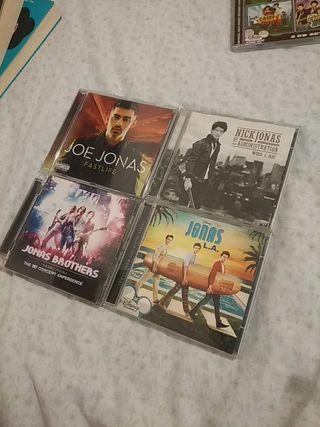 CDs variados Jonas Brothers