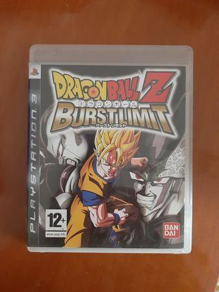 Juego Dragon Ball Z Burstlimit Ps3
