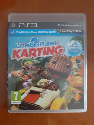 Juego Little Big Planet Karting Ps3