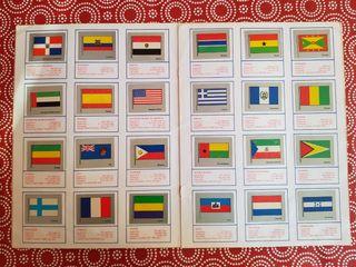 Banderas del mundo Álbum de cromos