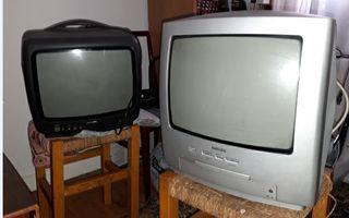 TV con fondo 14pulgadas