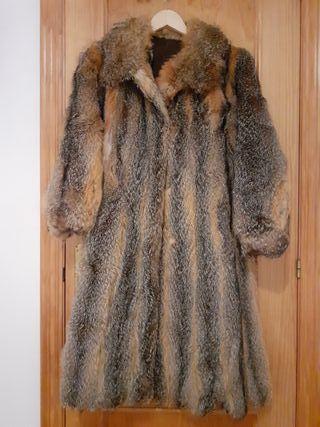 Abrigo de piel zorro virginia