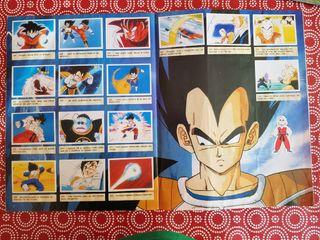 Dragon Ball Z - Álbum de cromos COMPLETO