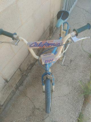 bicicleta BMX BH California star 18