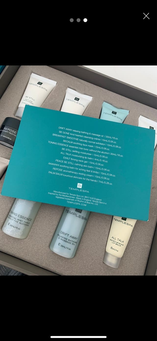 Temple Spa Gift Set