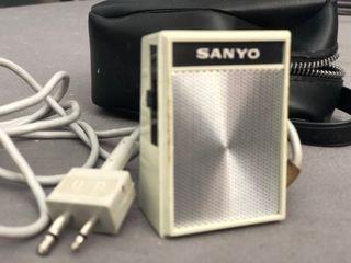 Micrófono de grabadora antigua Sony