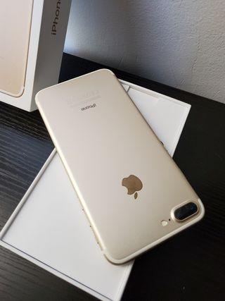 iPhone 7 plus de 128gb impecable