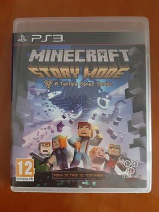 Juego Minecraft Story Mode Ps3