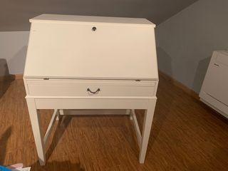 Pupitre blanco Ikea