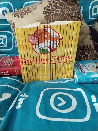 saga Geronimo Stilton libros