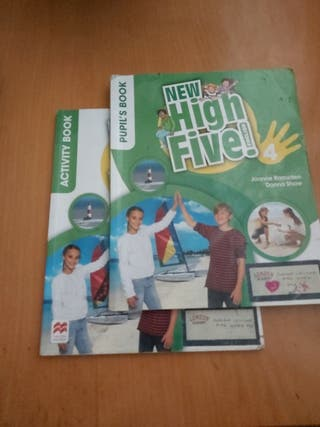 new high five ! 4 pri/ pupils and activity book