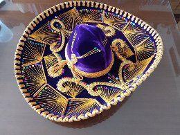 Sombrero charro mexicano