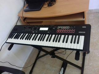 Teclado (sintetizador) korg kros 2