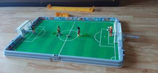 Playmobil futbolín