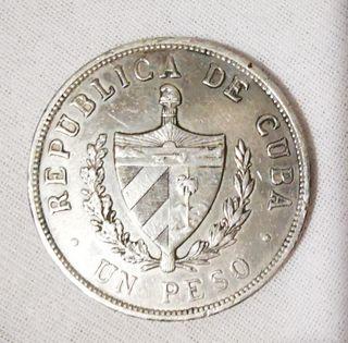 Peso Cubano 1934 plata