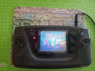 Sega Game Gear condensadores ceramicos y juego