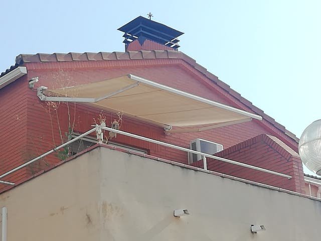toldo terraza