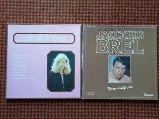 Box set 3 vinilos de Michelle Torr/Jacques Brel
