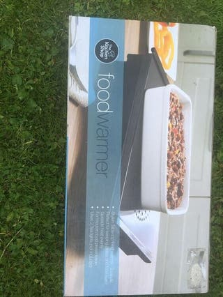 Brand new the kitchen shop food warmer