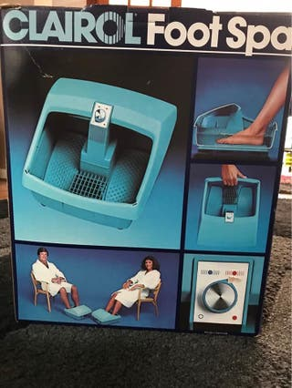 CLAIROL foot spa in excellent condition