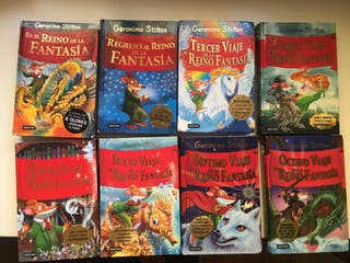 8 libros Gerónimo Stilton: Viaje al reino fantasía