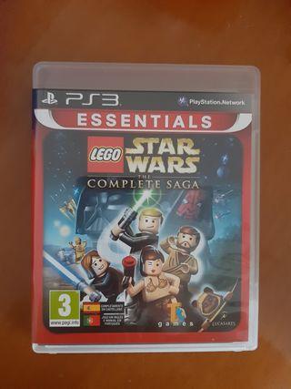 Juego Lego Star Wars The complete saga Ps3