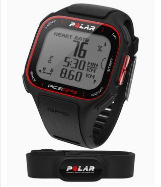 Pulsómetro POLAR RC3 GPS HR. Reloj y GPS