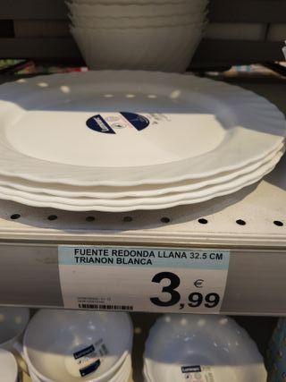 Platos llanos muy grandes (para plato combinado)