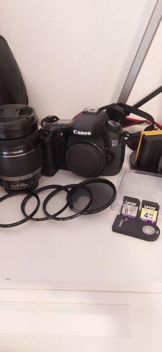 Canon EOS 60D cambio por Xiaomi M365 PRO