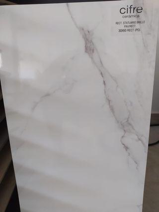 Azulejos marmol blanco