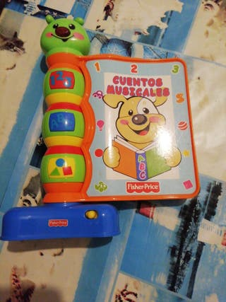 cuentacuentos fisher price