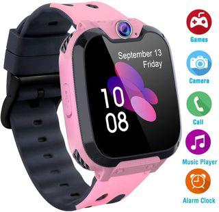Reloj Smartwatch para niñas, SIM/Llamadas/Cámara