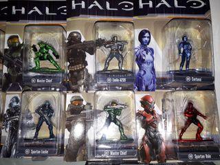 Colección completa 12 Halo nano metalics