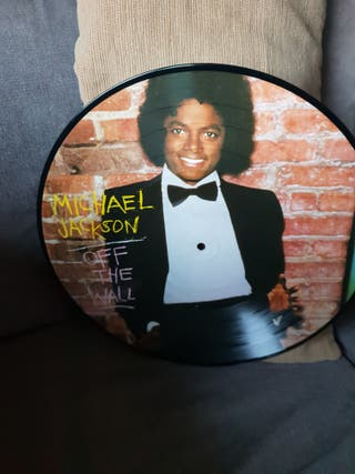 MICHAEL JACKSON OFF THE WALL LP VINILO PICTURE DIS