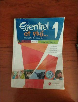 1r ESO. Llibre de francés